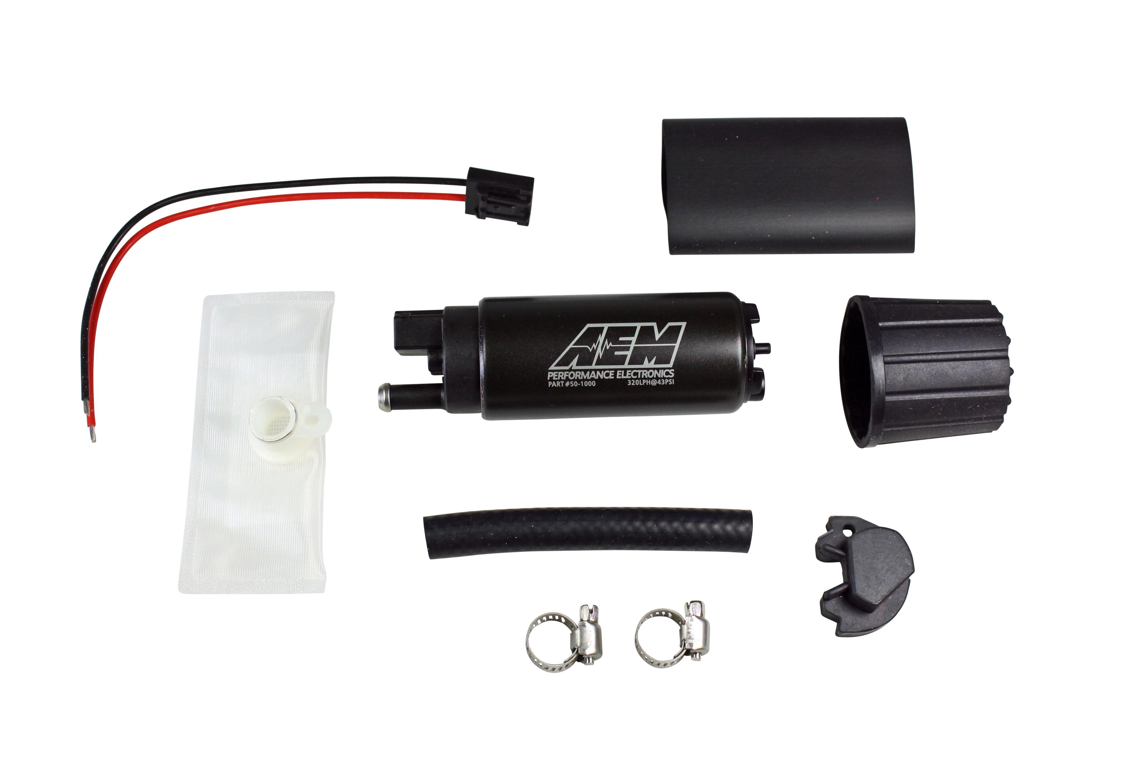xat racing fuel pumps aem 320lph in tank fuel pump kit. Black Bedroom Furniture Sets. Home Design Ideas