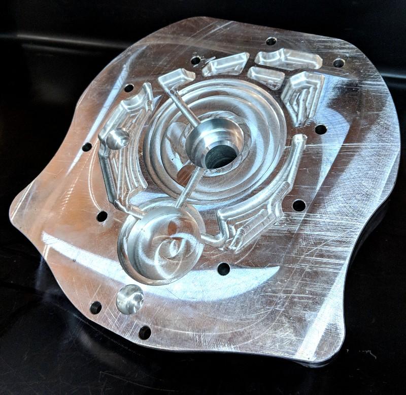 XAT Racing Billet Adapter Plate for 1UZ to Nissan CD009 6 Speed