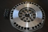 XAT Racing Lightweight Chromoly 11 lb UZ Flywheel for Manual swap WITH ARP BOLTS