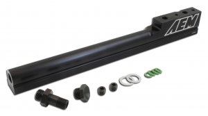 AEM Fuel Injector Rail 25-100BK