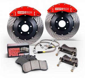 Stoptech Big Brake Kit Front Pair Subaru WRX