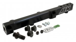 AEM Fuel Injector Rail 25-104BK
