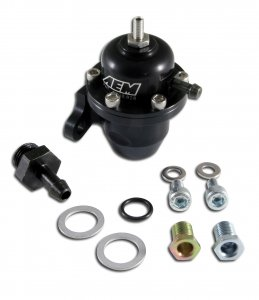 AEM Fuel Injection Pressure Regulator 25-301BK