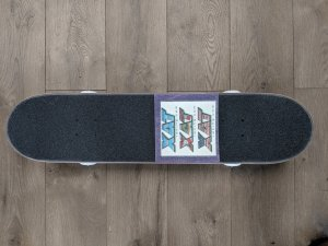 "XAT Racing ""SHREADY™"" Full Skateboard with Logo"