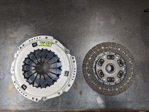 XAT Racing Stage 2 Clutch Kit for 1UZ W58 R154 Swap Kit W55 R150 R151 2UZ 3UZ