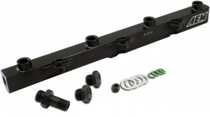 AEM Fuel Injector Rail 25-112BK