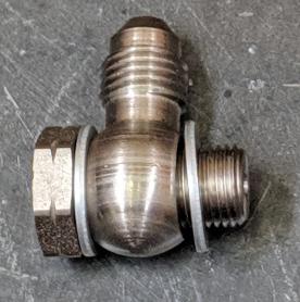 Clutch Line Banjo Fitting and Bolt