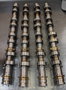 XAT Racing WORLD FIRST BILLET 3UR-FE Cams V8 Performance Camshafts for Tundra Sequoia Land Cruiser LX570