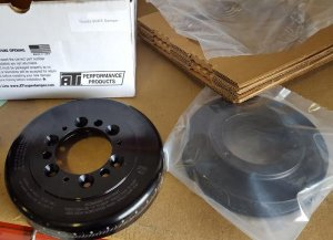 XAT ATi 1UZ 3UZ Crankshaft Pulley Super Damper Harmonic Balancer