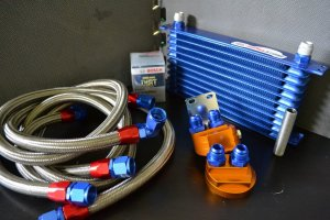 XAT Racing Universal Oil Cooler and Filter Relocation Kit Dash -10 Sized! FREE SHIPPING