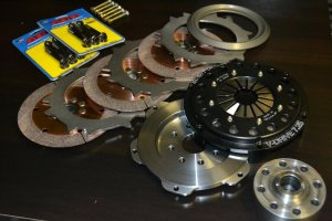 QuarterMaster 1UZ Twin or Triple Plate Clutch Kit